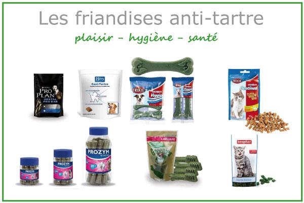 Les friandises anti-tartre pour chiens et chats