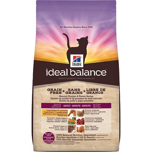 Croquettes sans céréales pour chats Hill's Ideal Balance