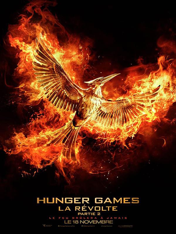 Affiche Hunger Games Révolte Partie 2
