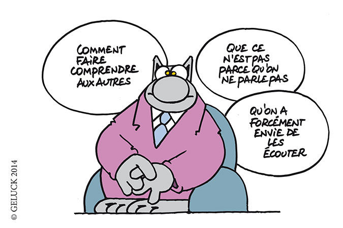 Strip Le Chat