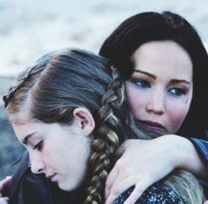 Katniss et Prim Everdeen