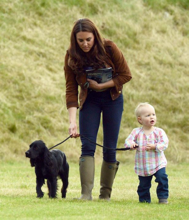 kate middleton, Lupo et le Prince George