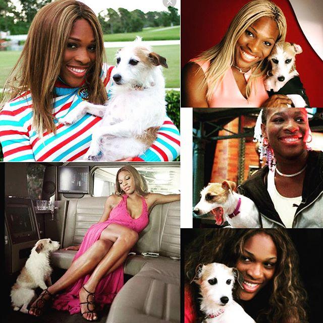Serena Williams et Jackie sur Instagram
