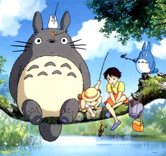 Totoro, Satsuki et Mei