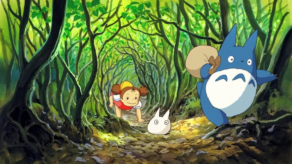 Mei et Chibi Totoro