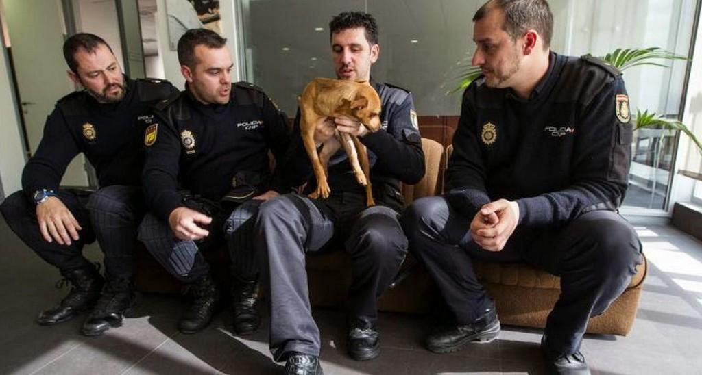 Neymar Oscar et les policiers sauveurs