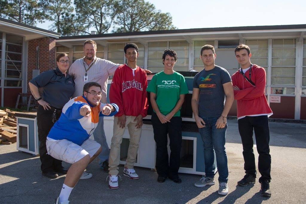 Les étudiants de Jacksonville