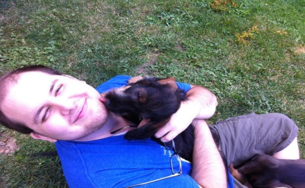 Zachary et son chien,  Zachary's Paws for Healing
