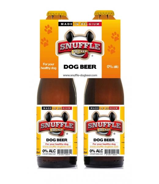 Bière pour chiens