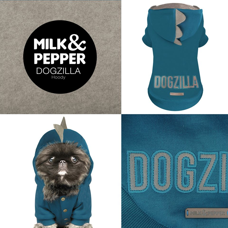 Sweat Milk & Pepper Dogzilla petits chiens