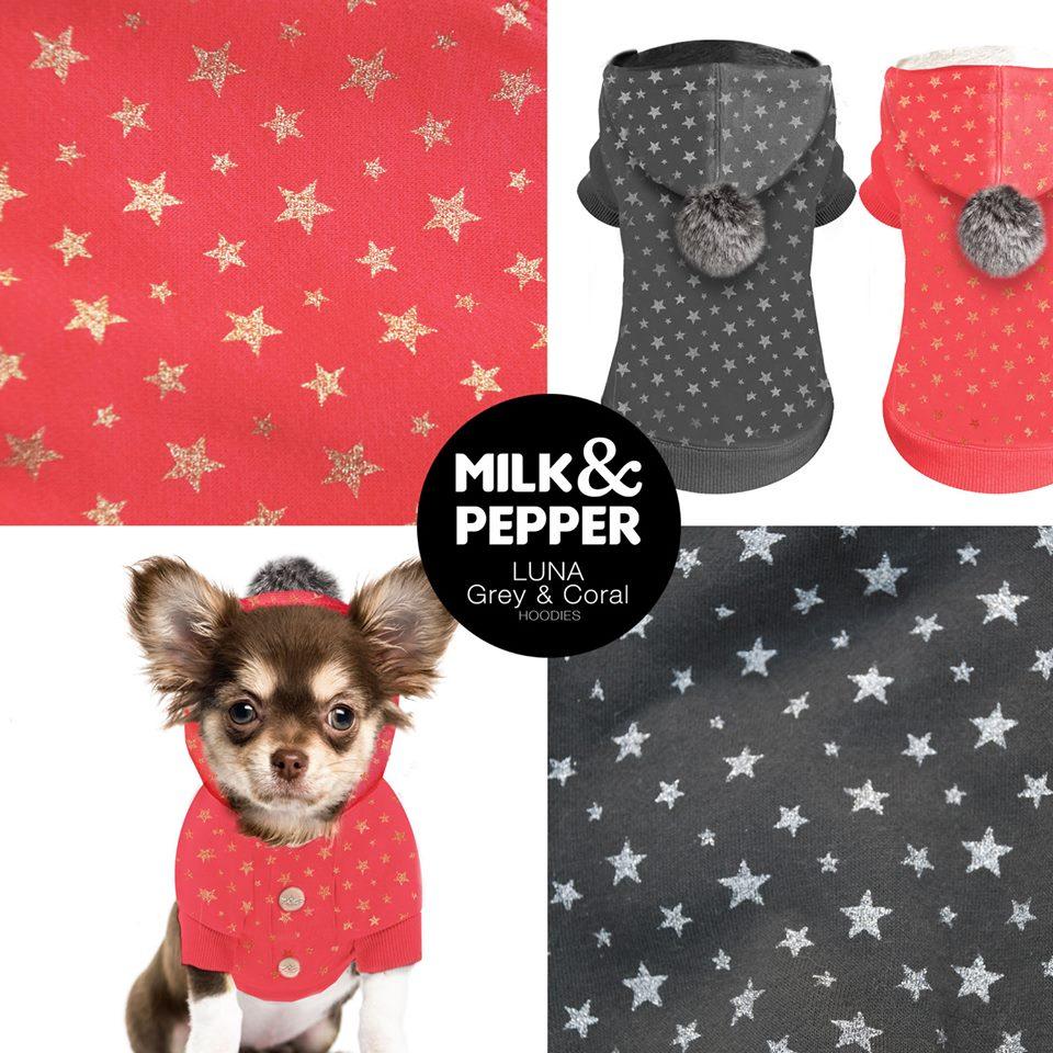Sweat Milk & Pepper Luna petits chiens