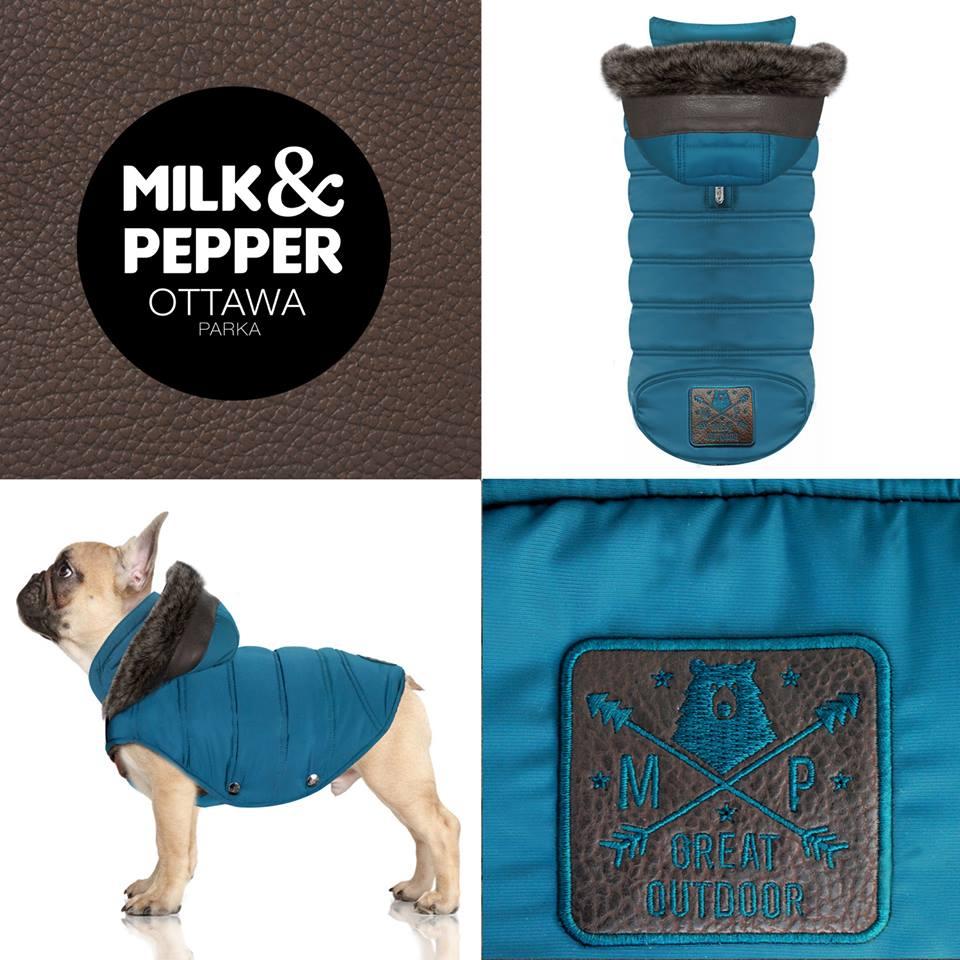 Doudoune Milk & Pepper Ottawa Bouledogues et Carlins