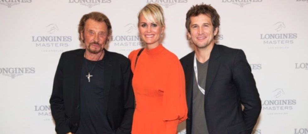 Guillaume Canet, Johnny Hallyday et Laeticia Hallyday