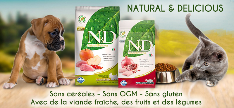 Farmina Natural & Delicious chiens et chats