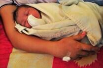 Le bébé sauvé par Pui