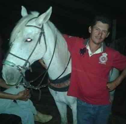 Wagner et son cheval Sereno