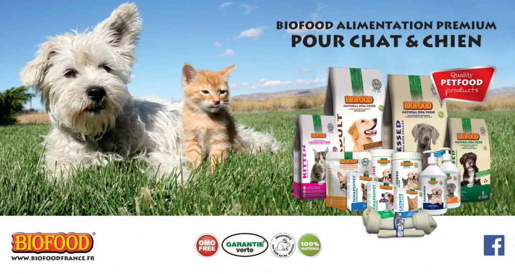 Biofood chiens chats