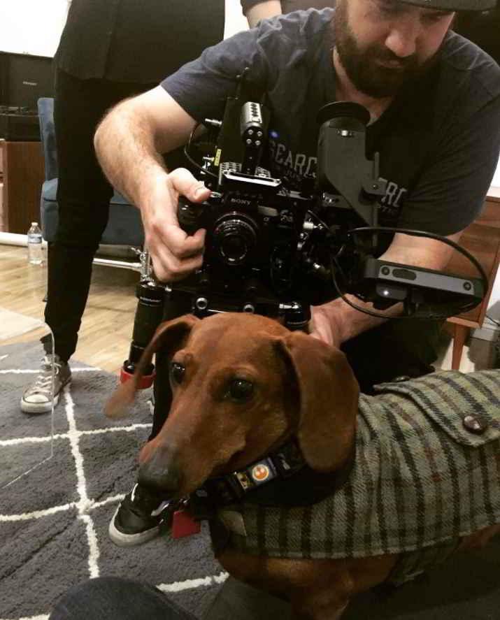 Captain Weenie en tournage