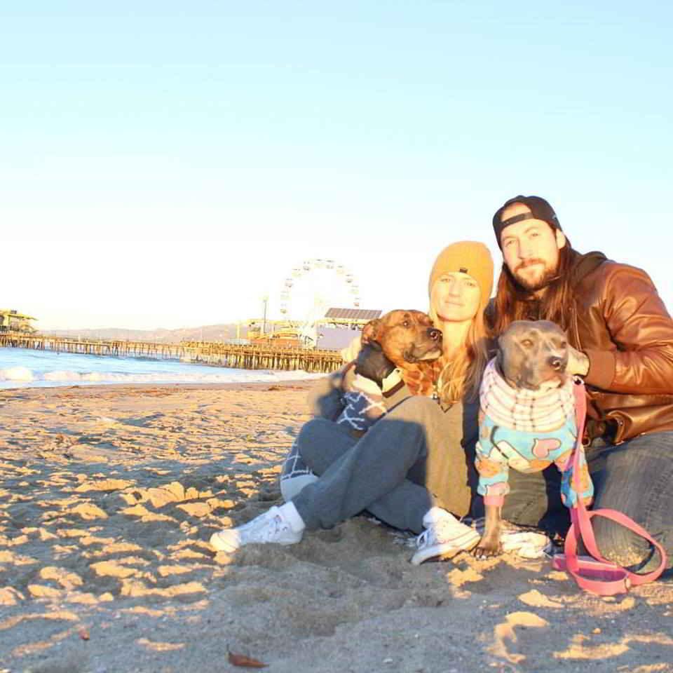 Calista et sa nouvelle famille