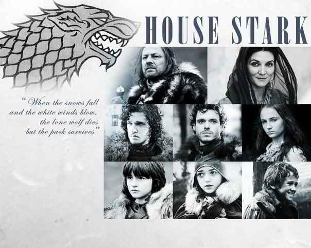 La famille Stark