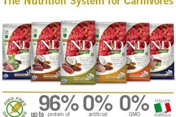 Croquettes N&D Grain Free Quinoa
