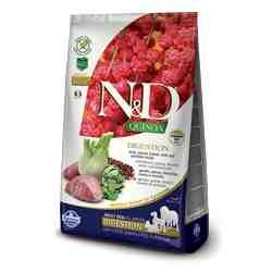 Croquettes Farmina N&D Digestion Quinoa Agneau