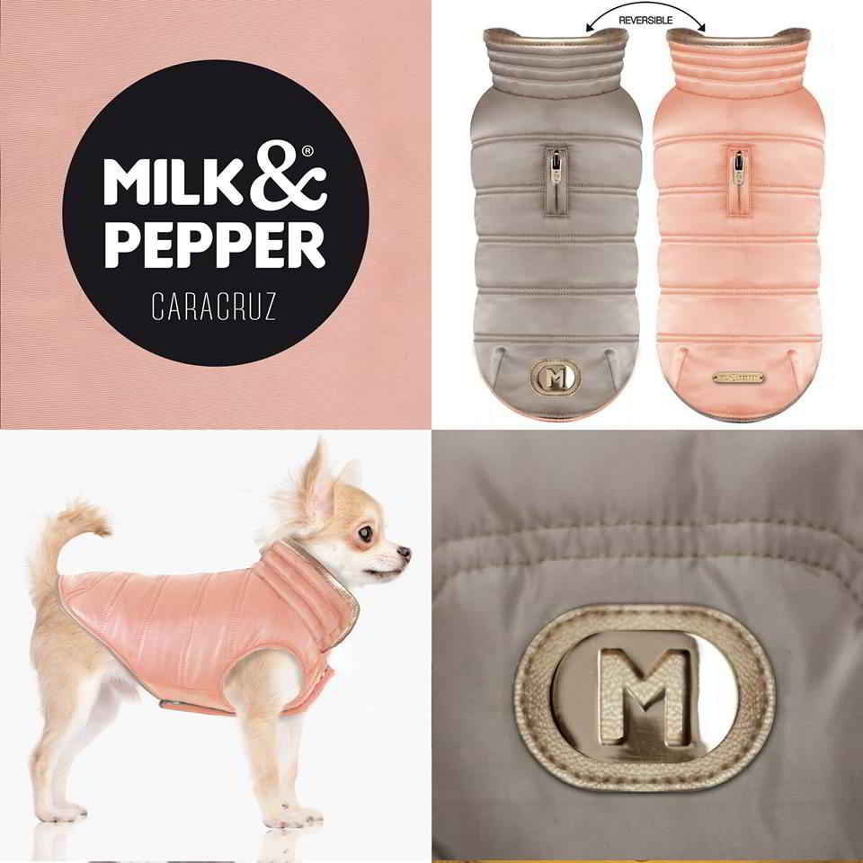 Manteau Cara Cruz Milk & Pepper