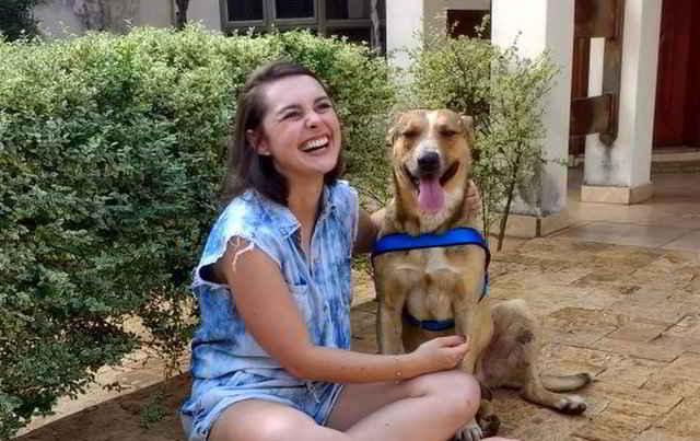 Marilia et le chien