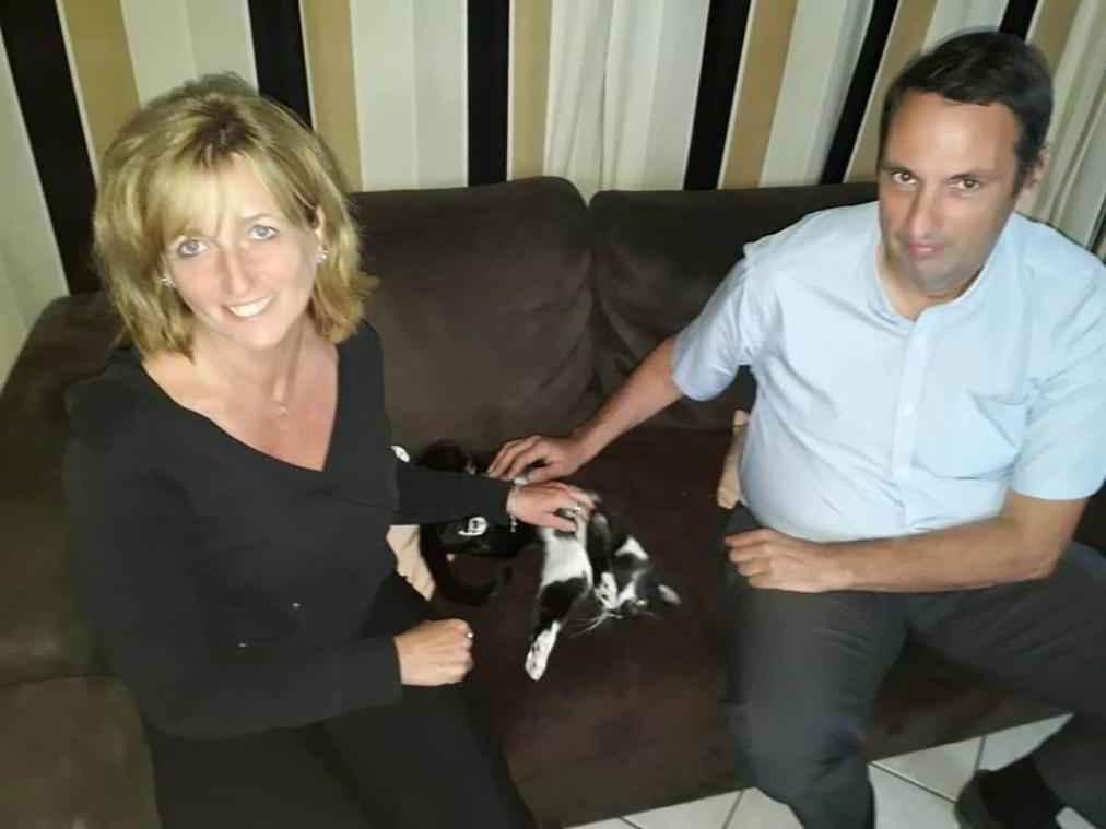 Le chat Jazz et sa famille