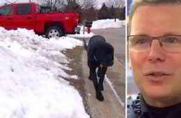 Le Labrador John Boy et le policier Jeff Gonzales