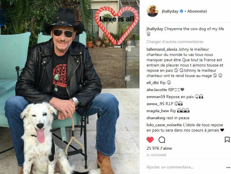 Johnny et Cheyenne