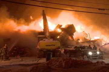 Incendie Crédit photo : Cosmo Santamaria – CTV News