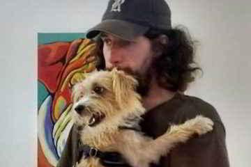 Patrick retrouve son chien Franklin