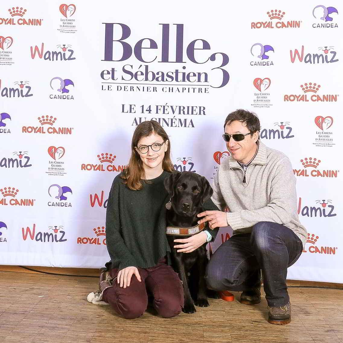 Le cinéma accueille les chiens d'assistance et leurs maîtres