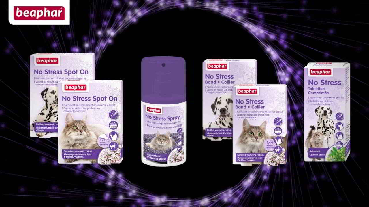 Beaphar anti stress chiens et chats