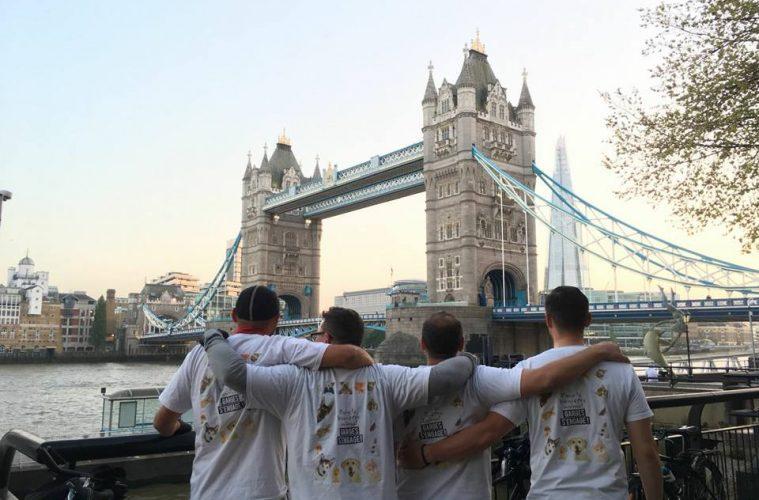 Ils sont arrivés à Londres!