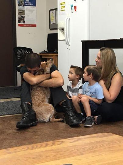 Les retrouvailles de Shelby et sa famille