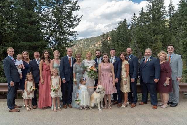 Boone et les mariés